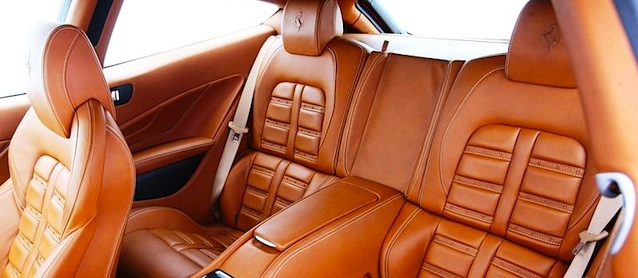 Ferrari FF Leather Interior colourlock leathercare leather repair